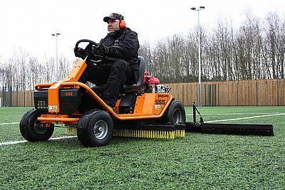 The recent purchase of a SISIS Brush-Pro ride-on brushing system and SISIS SSS1000 towed rotary brush sweeper by Nottingham Trent University (NTU) has